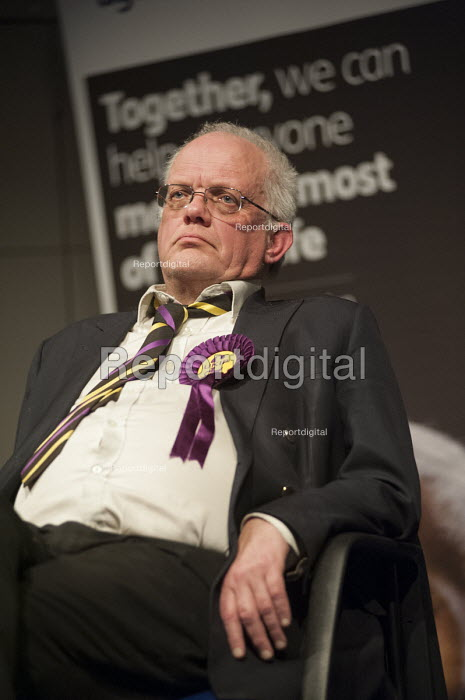 Magnus Nielsen (UKIP). General election hustings in Hampstead and Kilburn, the second most marginal constituency in the UK. - Philip Wolmuth - 2015-03-24