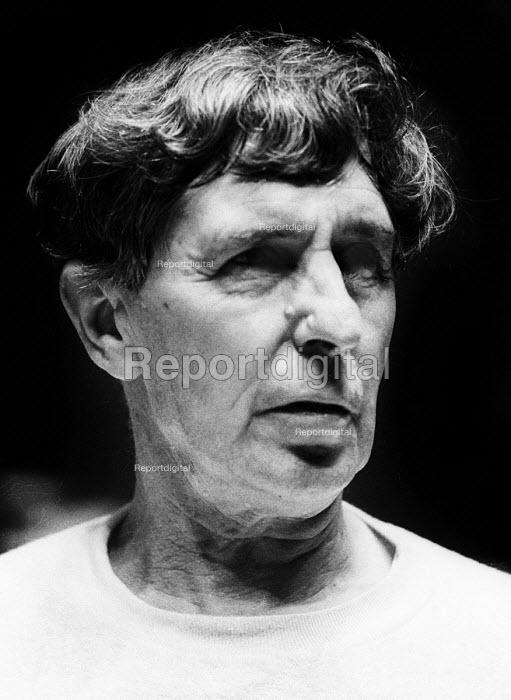 Composer, Sir Michael Tippett, 1970, London. - Bente Fasmer - 1970-10-16