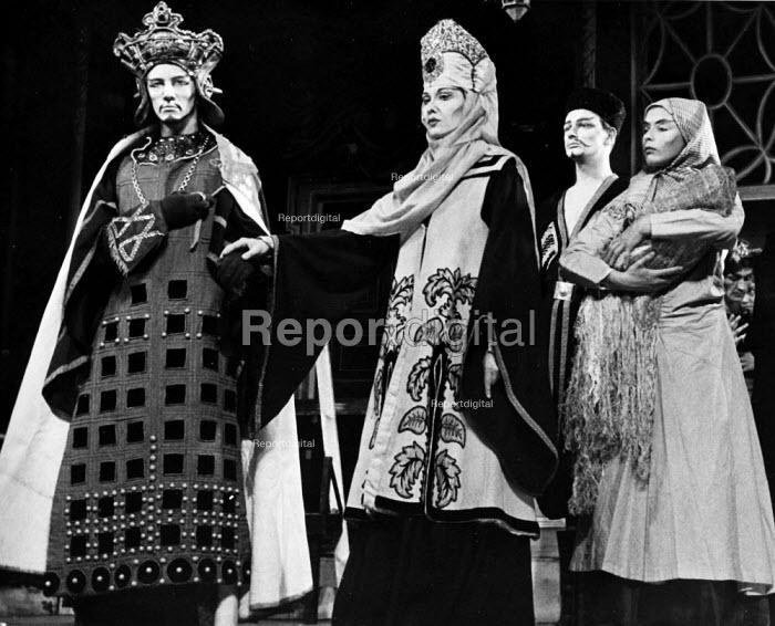 The Caucasian Chalk Circle by Bertolt Brecht, Berliner Ensemble, London 1956 - Felix H. Man - 1956-09-19