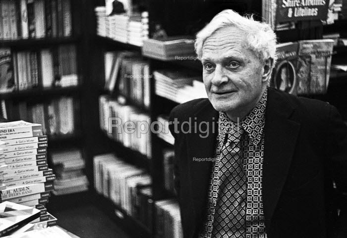 Poet, Sir Stephen Spender - Mike Sheridan - 1978-05-01