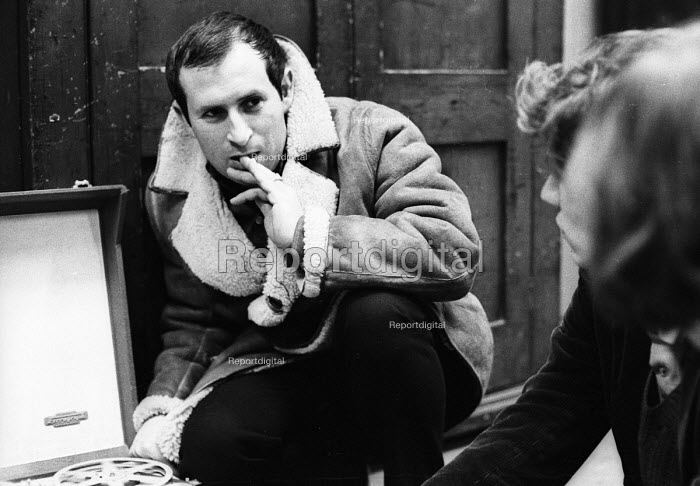 Playwright & Director Arnold Wesker during rehearsals for his plays Their Very Own and And Golden City, Royal Court Theatre, London, 1966 - Patrick Eagar - 1966-05-18