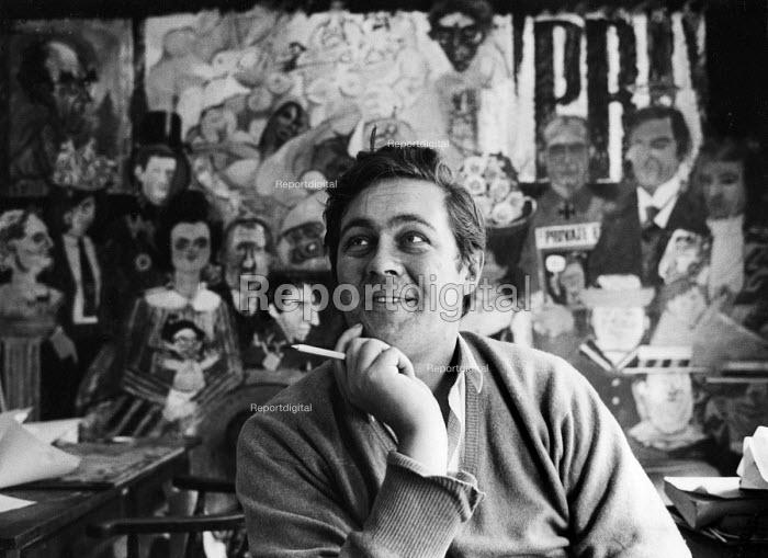 Richard Ingrams, Editor, Private Eye, 1967, London. - Patrick Eagar - 1967-09-12