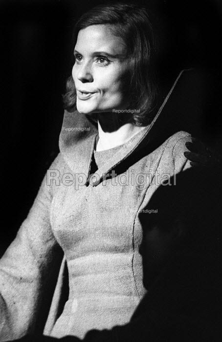Macbeth, Open Space Theatre in Tottenham Court Road, London, 1969. Thelma Holt as Lady Macbeth. - Patrick Eagar - 1969-05-19