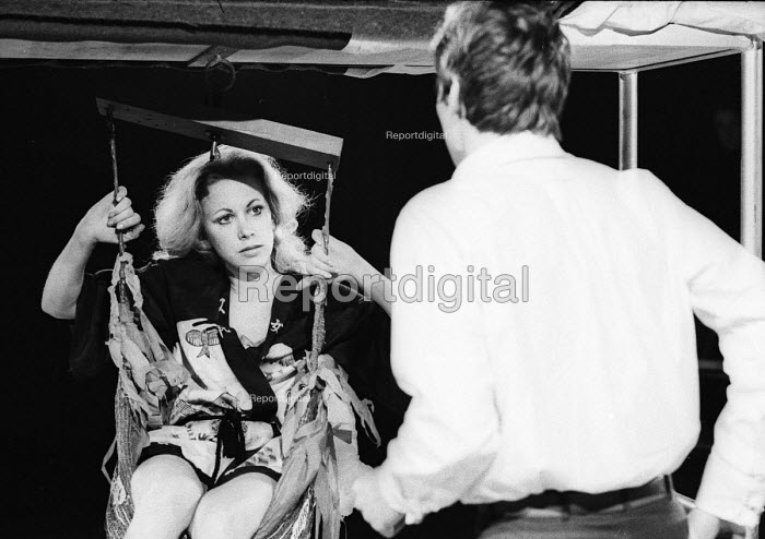 Connie Booth and Paul Jones in Muzeeka by John Gare, Open Space Theatre in Tottenham Court Road, London, 1969 - Patrick Eagar - 1969-02-25