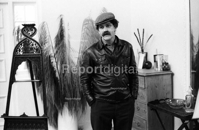 Writer, Jakov Lind in the early 1970s, London - Patrick Eagar - 1970-07-20