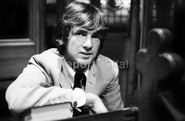 Musician and composer, John Tavener, 1968. - Romano Cagnoni - 1968-03-11