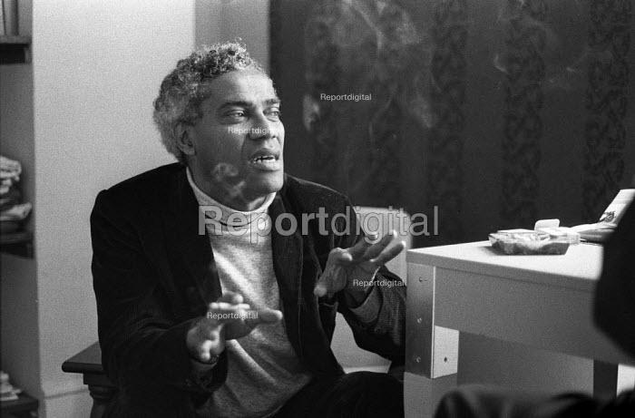 George Lamming, West Indian novelist and poet London 1970 - Sally Fraser - 1970-08-20