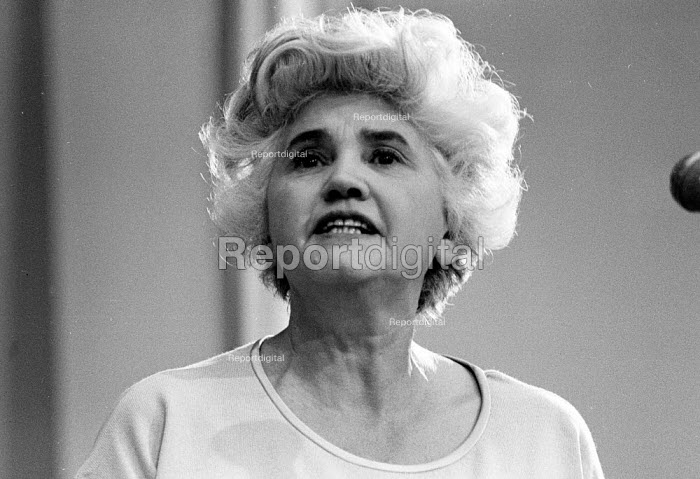 Jennie Lee, Socialist, Labour politician and wife of Nye Bevan, London 1970 - Report Archive - 1970-10-15