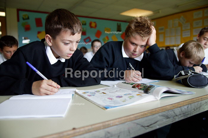 French lesson, Easington Community School, County... - Roy Peters, RP411362.jpg