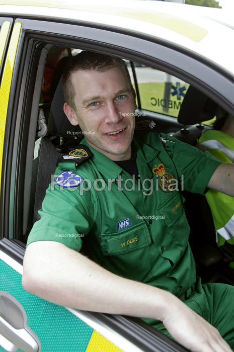 Ambulanceman and paramedic - Roy Peters, RP511q128.jpg