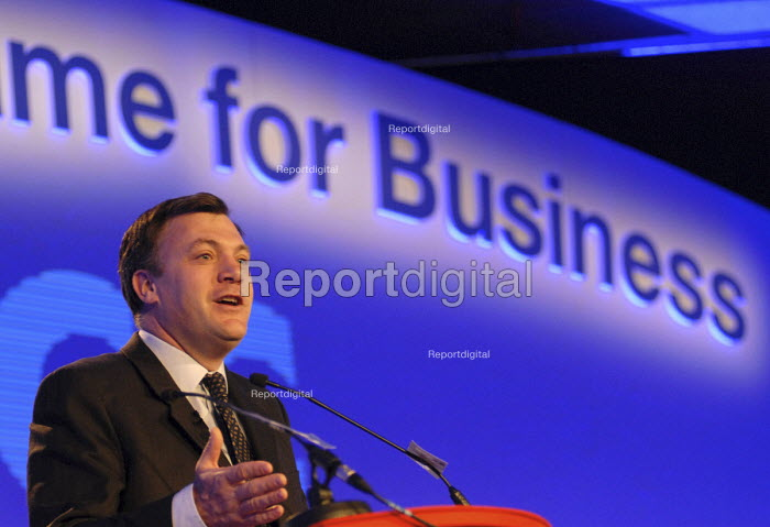 Labour MP Ed Balls, speaking at a business conference - Stefano Cagnoni - 2007-04-22