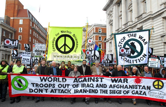 March through Westminster to mark the 5th anniversary of the invasion of Iraq and the continuing war there - Stefano Cagnoni - 2008-03-15