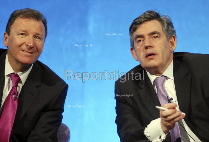 Prime Minister, Gordon Brown MP with Cabinet Secretary Sir Gus O'Donnell at the Civil Service LIve conference - Stefano Cagnoni - 2008-04-01