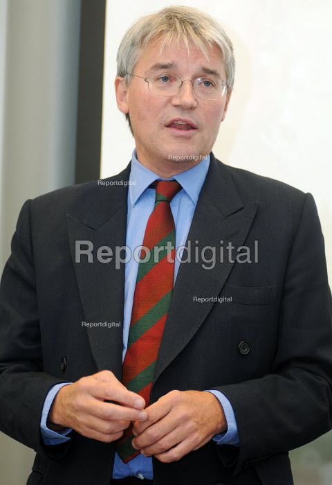 Andrew Mitchell MP, Secretary of State for International Development, speaking at a fringe meeting at the 2010 TUC - Stefano Cagnoni - 2010-09-13