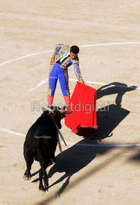 Bullfight in the Roman Amphitheatre in Arles, southern France. - Stefano Cagnoni - 2011-08-08