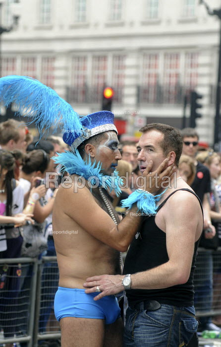 Gay Pride demonstration in London on the 40th anniversary of the first Gay Pride march. - Stefano Cagnoni - 2011-07-02