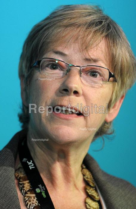 Lesley Mercer, CSP. TUC Congress 2011 London. - Stefano Cagnoni - 2011-09-12
