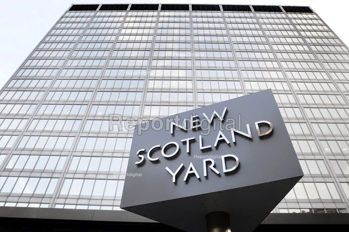 New Scotland Yard in Westminster. Headquarters of the Metropolitan Police which may be sold as part of the MET's plans to cope with reduced policing budgets. - Stefano Cagnoni - 2012-10-30