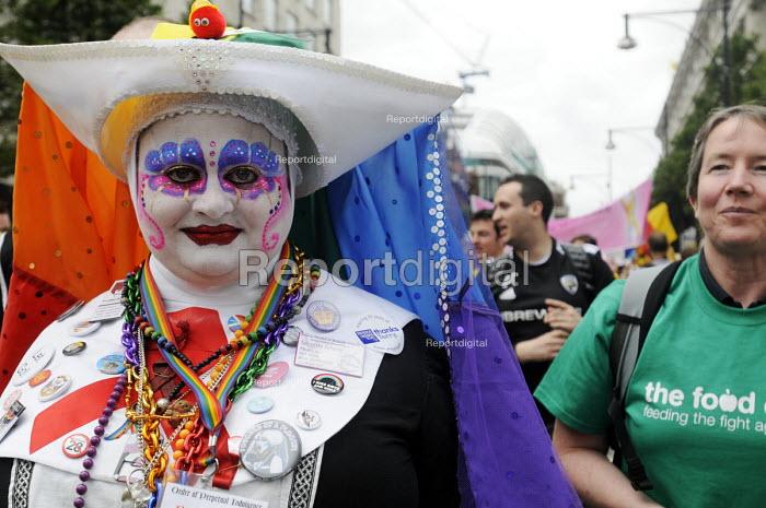 World Pride 2012 demonstration in London. - Stefano Cagnoni - 2012-07-07
