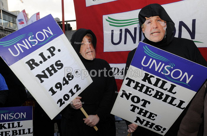 Save Our NHS rally organised by the TUC - Stefano Cagnoni - 2012-03-07