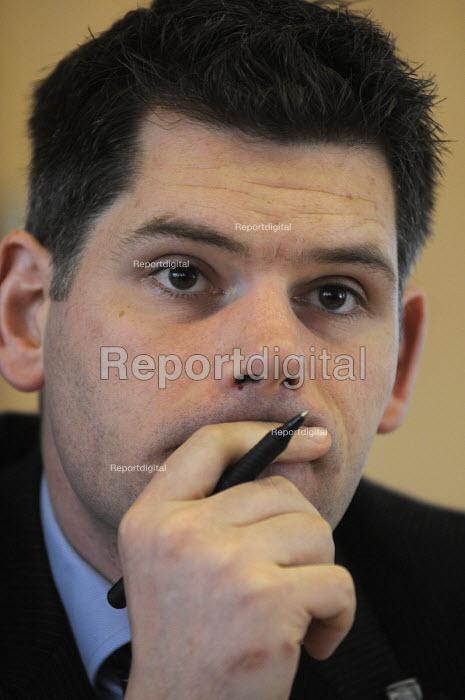 Andrew Harrop, Gen Sec of the Fabian Society. - Stefano Cagnoni - 2012-03-30