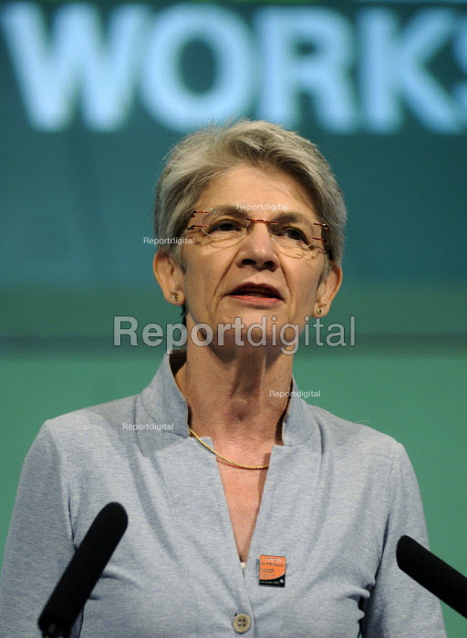 Bernadette Segol, Gen Sec of the ETUC, speaks to the 2012 TUC Congress. - Stefano Cagnoni - 2012-09-09