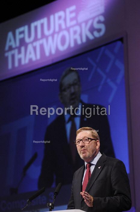 Len McCluskey UNITE, speaking at the 2012 TUC Congress. - Stefano Cagnoni - 2012-09-10
