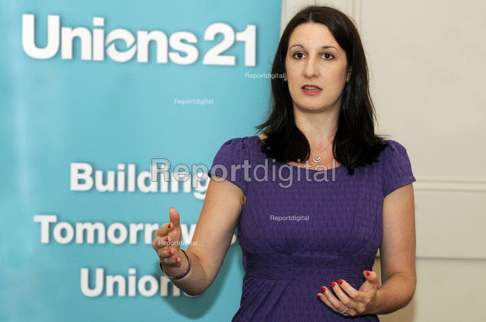 TUC 2012. Rachel Reeves MP, speaking at a Unions 21 fringe meeting. - Stefano Cagnoni - 2012-09-10
