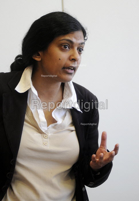 Dr Rupa Huq, Sociologist and Senior Lecturer at Kingston University, and author of Beyond Subculture - Stefano Cagnoni - 2012-03-30