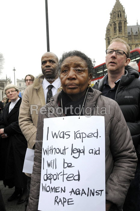 Save Legal Aid rally opposite Parliament. Grayling Day. Westminster. London. - Stefano Cagnoni - 2014-03-07