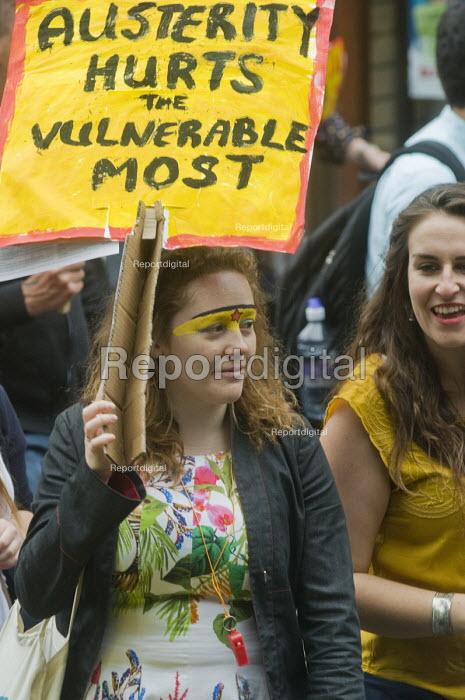 No to Austerity march, London, 2015. - Stefano Cagnoni - 2015-06-20