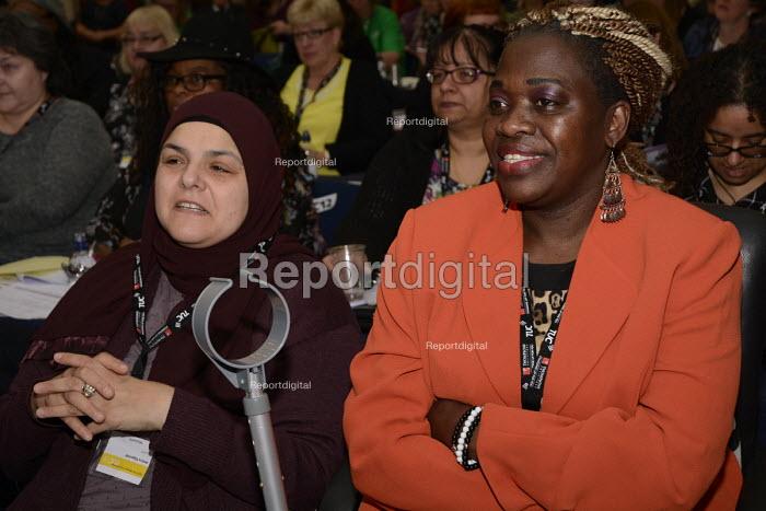 NASUWT delegates, Women's TUC, 2015 - Janina Struk - 2015-03-12