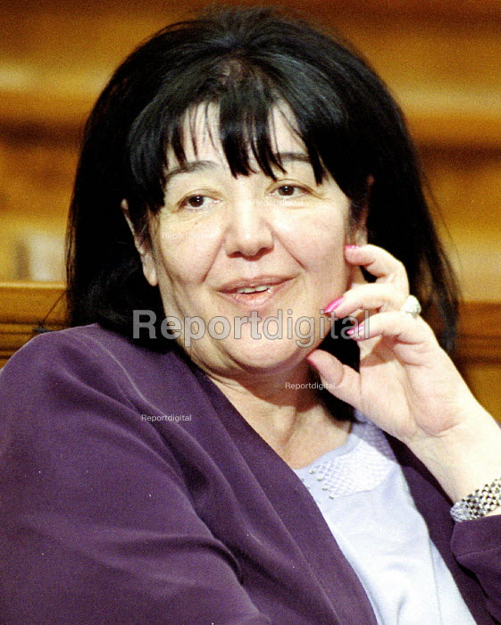 Mirjana Markovic, influential wife of former President Miloshevic. Belgrade, Serbia. 2001 - Andrija Ilic - 2001-07-01