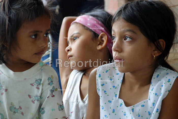 Colombian refugee children. Urena, Venezuela 2004 - Boris Heger - 2004-09-01