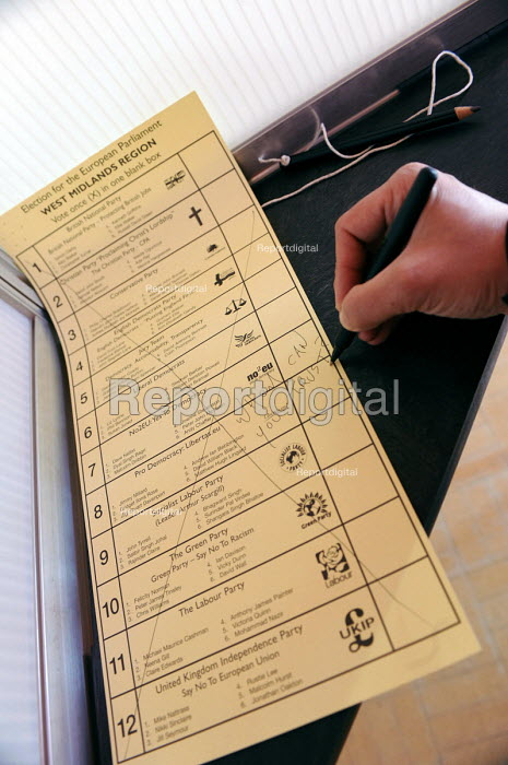 Election for the European Parliament, Who can you trust? Spoiling the ballot paper. - Timm Sonnenschein - 2009-06-04