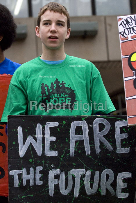 We are the future. Walk of Hope, Celebrating Birmingham Youth Services The City Council are to cut the youth service budget - Timm Sonnenschein - 2011-02-25