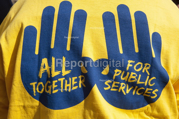 POA T-Shirt All together for Public Services - Timm Sonnenschein - 2012-10-07