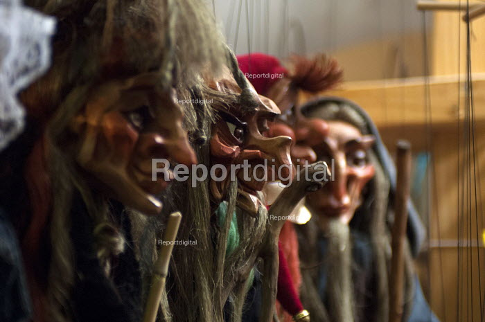 Traditional wooden puppet witch, Prague - Timm Sonnenschein - 2012-06-04
