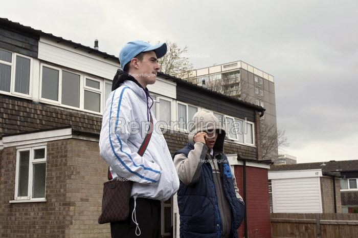 Youth on a council estate, Druids Heath, Birmingham - Timm Sonnenschein - 2013-04-24