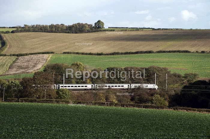An East Coast Main line train, Grantham, Lincolnshire - Timm Sonnenschein - 2013-10-29