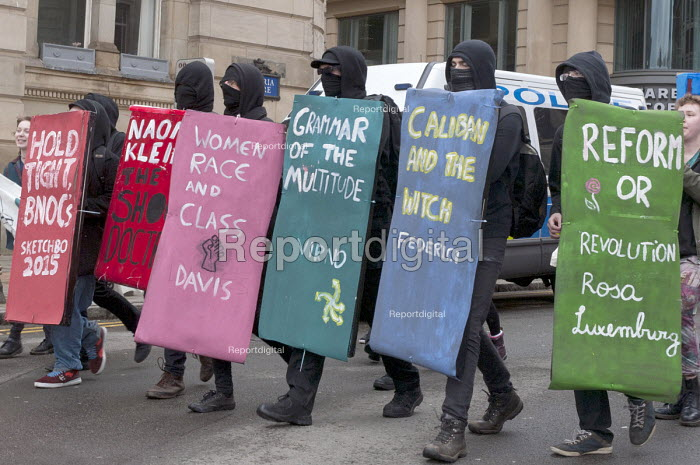 National student protest for free education in Birmingham initiated by the National Campaign Against Fees and Cuts - Timm Sonnenschein - 2015-03-28