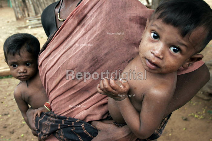 The Adilabad district in India is among the poorest in the country. - Tashi Tobgyal - 2007-10-11