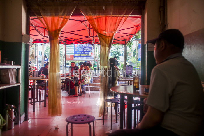 A restaurant. Dongcheng, Yunnan Province, China. - Connor Matheson - 2015-09-29