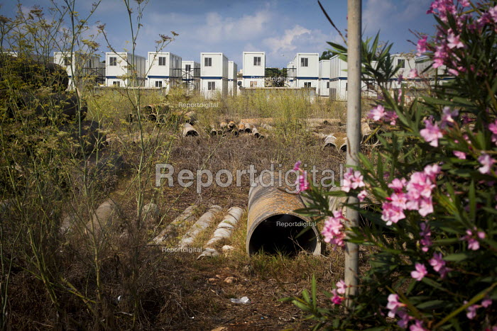 Hal Far Refugee Camp, Malta. - Connor Matheson - 2015-08-10