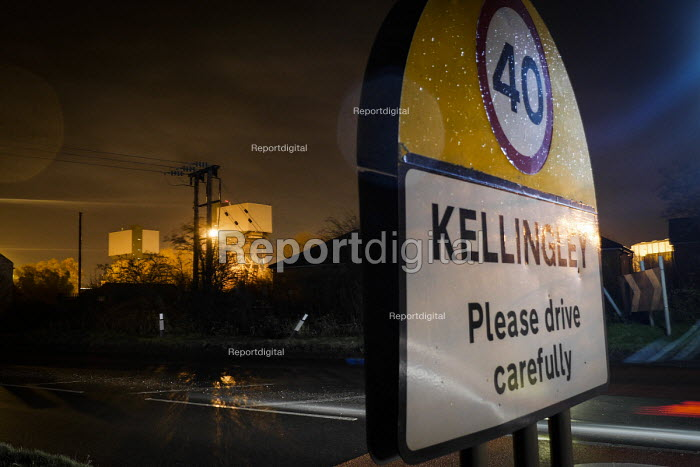 The last deep coal mine in the UK at Kellingley Colliery near Knottingley, Yorkshire which is scheduled to be closed in December 2015 bringing the deep coal mining industry to an end in the UK. - Mark Pinder - 2015-12-03