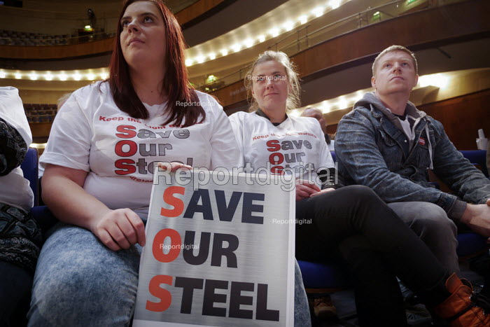 Save Our Steel Rally, Sheffield City Hall, Yorkshire - Mark Pinder - 2015-11-21
