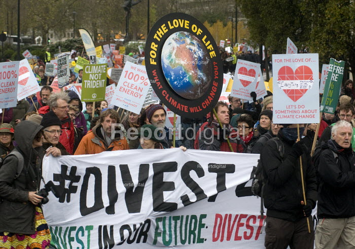 Divest Invest, The People's March for Climate, Justice and Jobs. London - Stefano Cagnoni - 2015-11-29