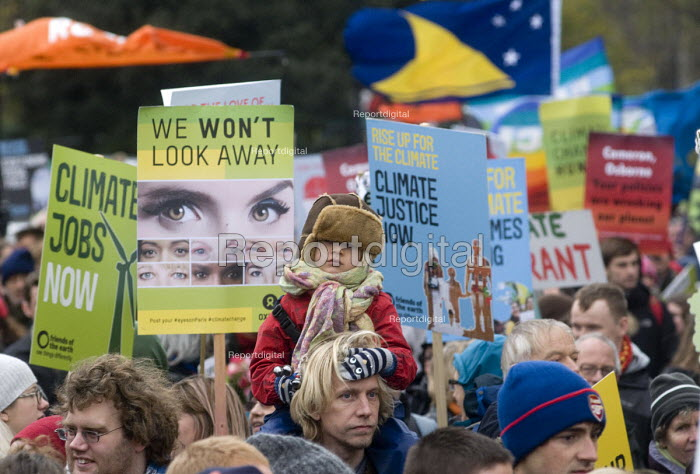 The People's March for Climate, Justice and Jobs. London - Stefano Cagnoni - 2015-11-29
