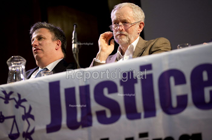 Jeremy Corbyn speaking, Voices for Justice - Save Legal Aid, Justice Alliance rally. Conway Hall. London. - Jess Hurd - 2016-01-06