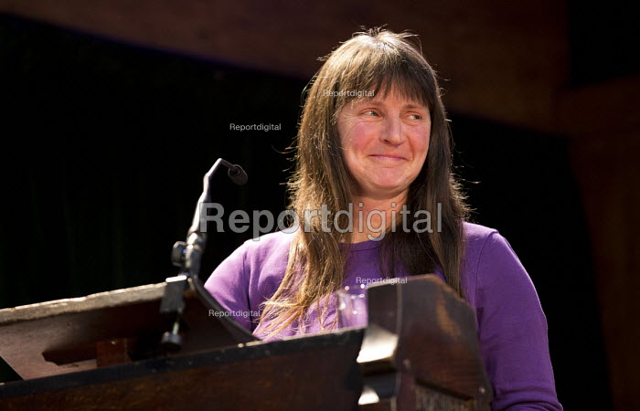 Helen Steel speaking Voices for Justice - Save Legal Aid, Justice Alliance rally. Conway Hall. London. - Jess Hurd - 2016-01-06